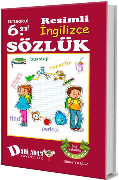 Ortaokul 6 Sınıf Resimli Ingilizce Sözlük Kitap Müzik Dvd çok