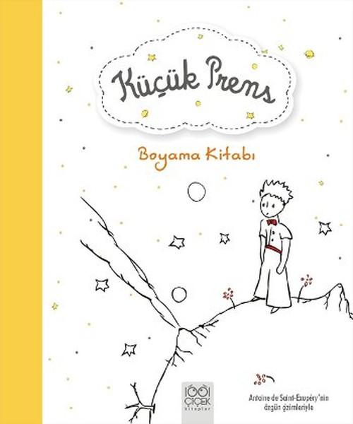Küçük Prens Boyama Kitabı Kitap Müzik Dvd çok Satan Kitaplar