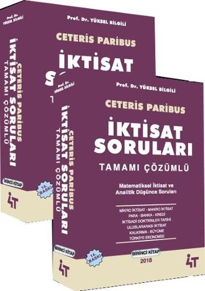 Ceteris Paribus İktisat Soruları Tamamı Çözümlü - 2 Kitap Takım.pdf