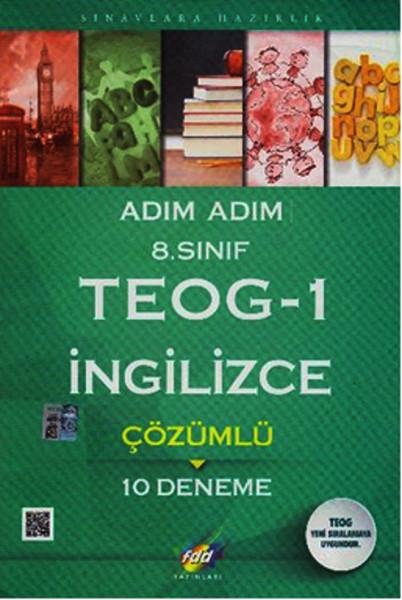 FDD 8. Sınıf Adım Adım TEOG-1 İngilizce Çözümlü 10 Deneme.pdf