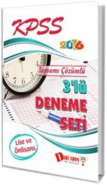 Dahi Adam KPSS Lise-Ön Lisans 3 lü Deneme Seti 2016.pdf