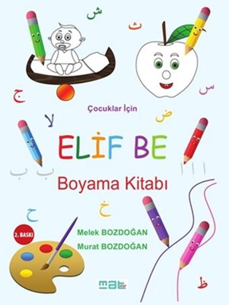 çocuklar Için Elif Be Boyama Kitabı Melek Bozdoğan Fiyatı