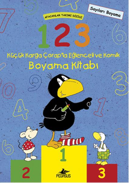 1-2-3 Küçük Karga Çorapla Eğlenceli ve Komik Boyama Kitabı.pdf