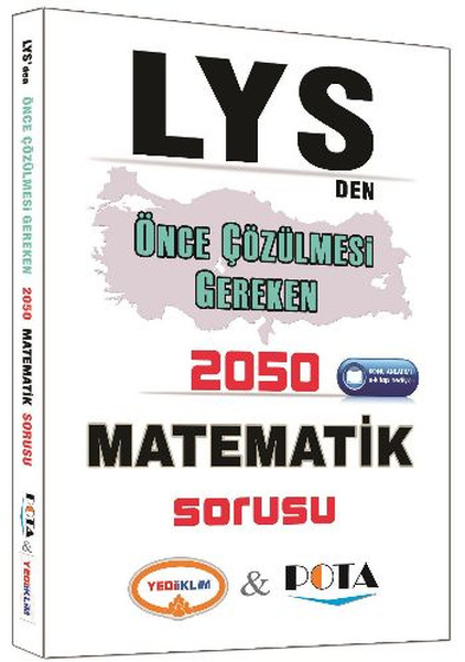 Yediiklim LYS den Önce Çözülmesi Gereken 2050 Matematik Sorusu.pdf
