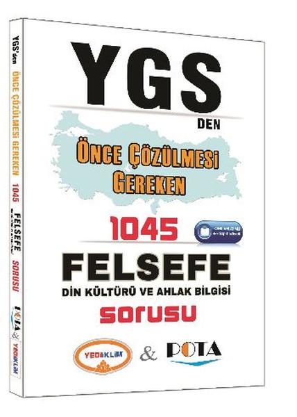 Yediiklim YGS den Önce Çözülmesi Gereken 1045 Felsefe Din Kültürü ve Ahlak Bilgisi Sorusu.pdf