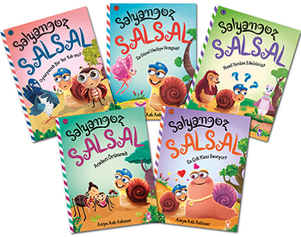 Salyangoz Salsal Seti - 5 Kitap Takım.pdf