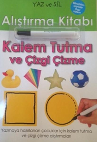 Yaz ve Sil Alıştırma Kitabı - Kalem Tutma Ve Çizgi Çekme.pdf