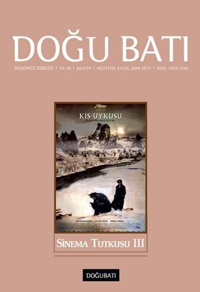 Doğu Batı Düşünce Dergisi Sayı: 74 - Sinema Tutkusu 3.pdf