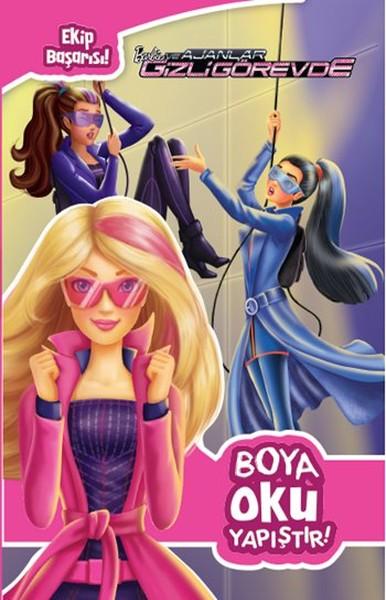 Barbie ve Ajanlar Gizli Görevde - Boya Oku Yapıştır.pdf