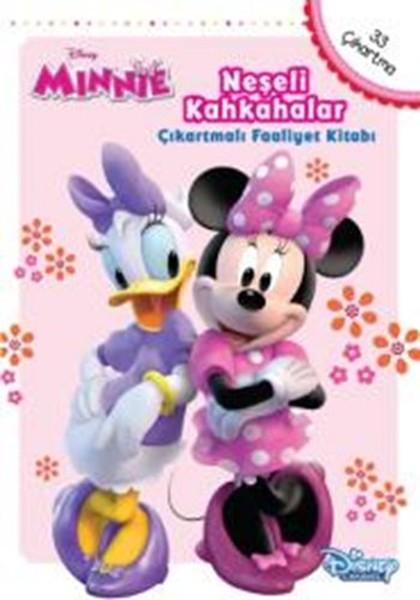 Disney Minnie Neşeli Kahkahalar Çıkartmalı Faaliyet Kitabı.pdf