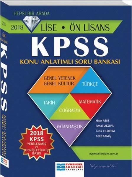 2018 Lise önlisans Kpss Konu Anlatımlı Soru Bankası Kolektif