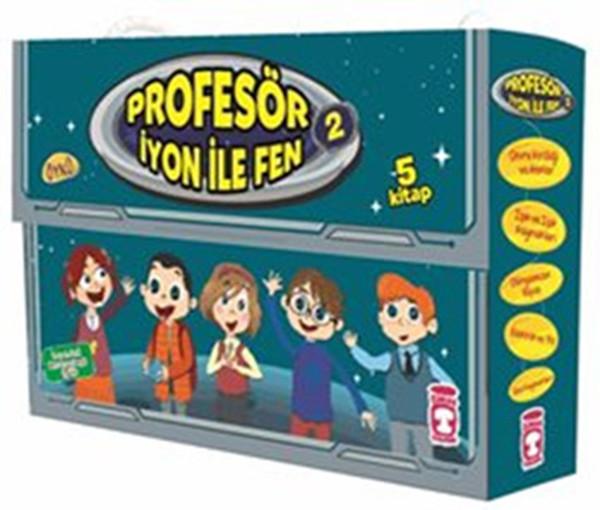 Profesör İyon İle Fen 2 - 5 Kitap Takım.pdf