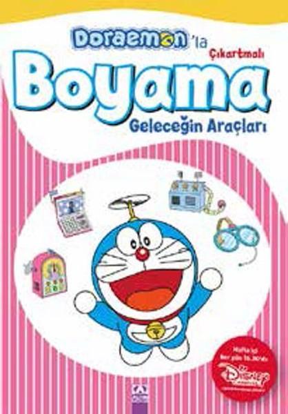 Doraemonla Çıkartmalı Boyama Geleceğin Araçları.pdf