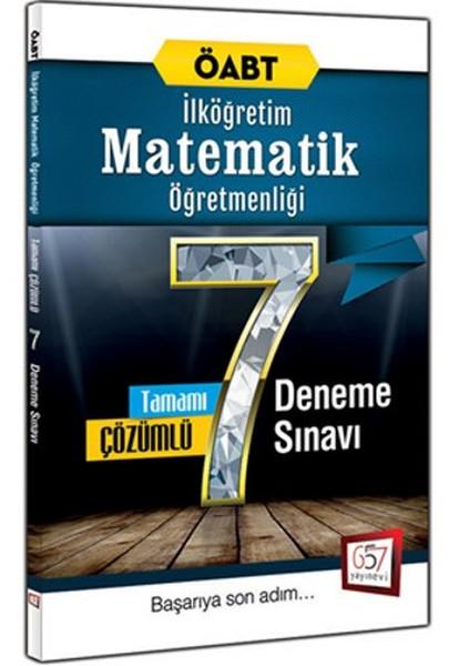 2016 ÖABT İlköğretim Matematik Öğretmenliği Tamamı Çözümlü 7 Deneme Sınavı.pdf