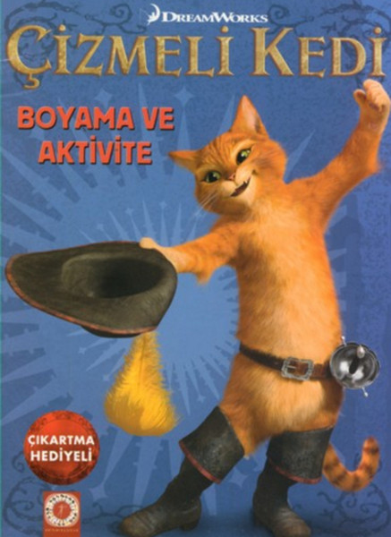 Çizmeli Kedi Boyama ve Aktivite.pdf