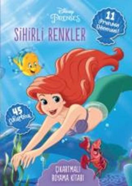 Disney Prenses Dövmeli ve Çıkartmalı Boyama Kitabı - Sihirli Renkler.pdf