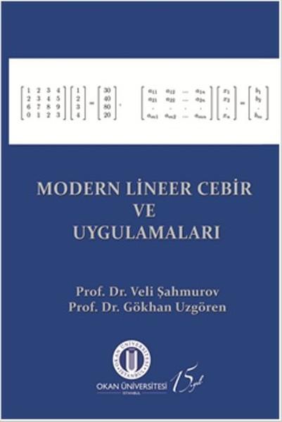 Modern Lineer Cebir ve Uygulamaları.pdf