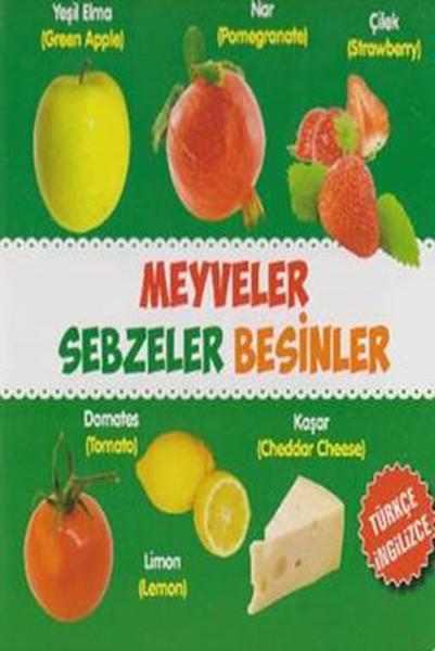 Meyveler - Sebzeler - Besinler Türkçe - İngilizce.pdf