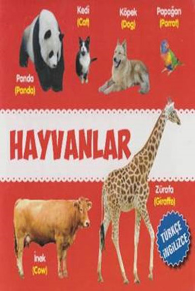 Hayvanlar Türkçe - İngilizce.pdf