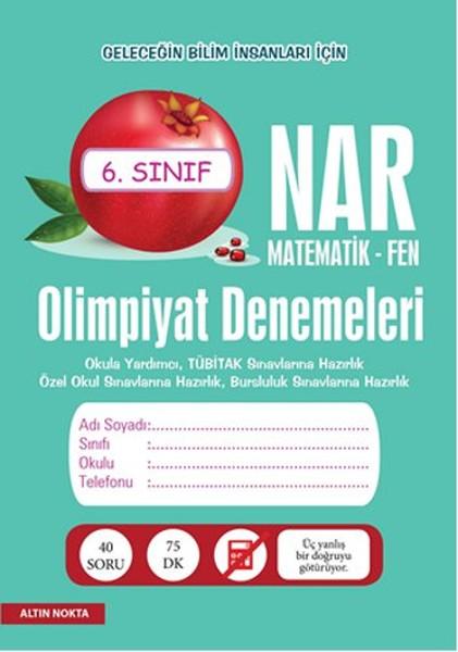 Nar Olimpiyat Denemeleri 6. Sınıf - Matematik - Fen.pdf