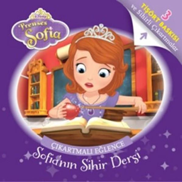 Disney Prenses Sofia Çıkartmalı Eğlence Tişört Baskılı - Sofianın Sihir Dersi.pdf
