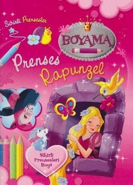 Sihirli Prensesler - Prenses Rapunzel - Boyama Kitabı.pdf