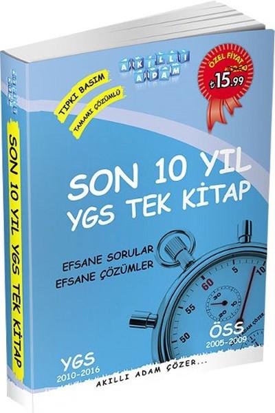 Akıllı Adam Son 10 Yıl YGS Tamamı Çözümlü Tek Kitap.pdf