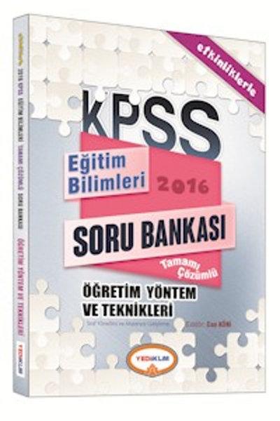 KPSS Eğitim Bilimleri Öğretim Yöntem ve Teknikleri Tamamı Çözümlü Soru Bankası.pdf