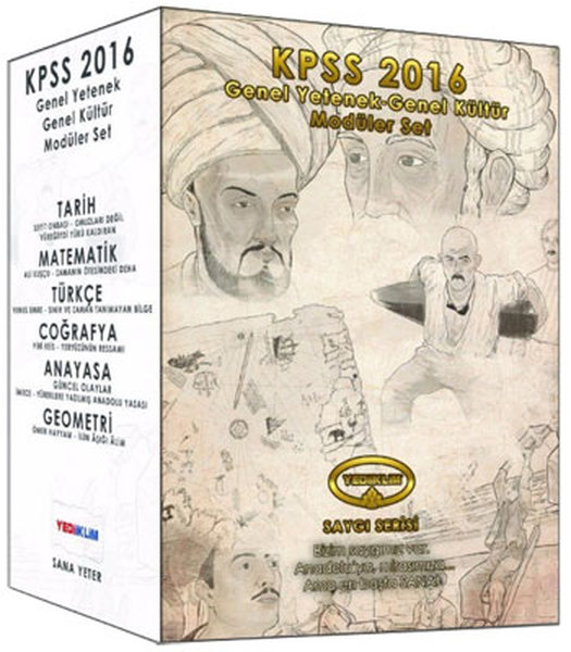 Yediiklim KPSS Genel Yetenek-Genel Kültür Konu Anlatımlı Modüler Set.pdf