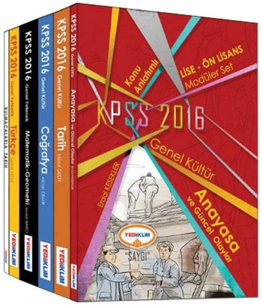 Yediiklim KPSS Lise-Önlisans Genel Yetenek-Genel Kültür Konu Anlatımlı Modüler Set.pdf