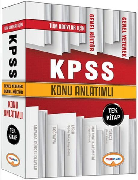 Yediiklim Tüm Adaylar İçin Kpss Genel Yetenek-Genel Kültür Konu Anlatımlı Kitap.pdf