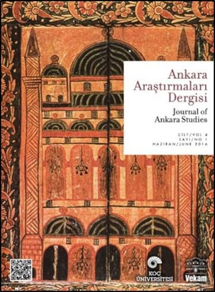 Ankara Araştırmaları Dergisi Cilt:4 Sayı: 1.pdf