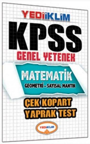 Yediiklim KPSS Matematik Çek Kopart Yaprak Test.pdf