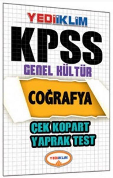 Yediiklim KPSS Coğrafya Çek Kopart Yaprak Test.pdf