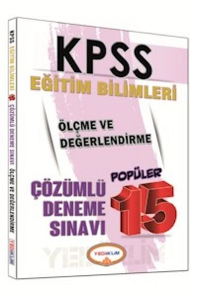 Yediiklim KPSS Eğitim Bilimleri Ölçme ve Değerlendirme Popüler 15 Deneme Sınavı 2016.pdf