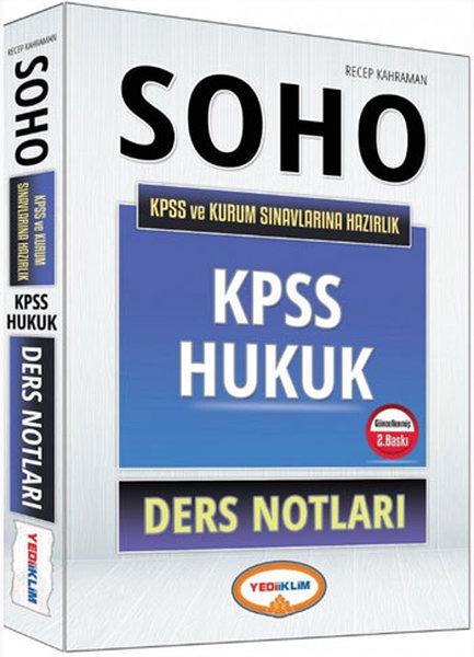 Yediiklim SOHO 2016 KPSS ve Kurum Sınavlarına Hazırlık Hukuk Ders Notları.pdf