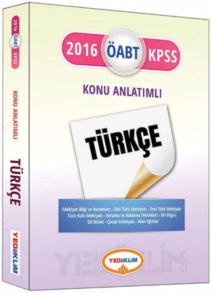 Yediiklim 2016 KPSS Alan Bilgisi Türkçe Öğretmenliği Konu Anlatımlı.pdf