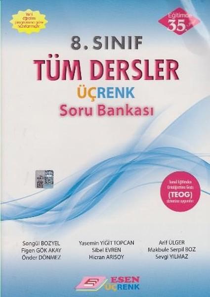 Esen Üçrenk 8. Sınıf Tüm Dersler Soru Bankası.pdf