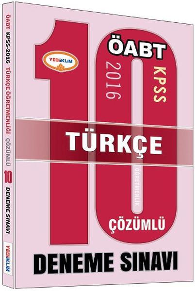 Yediiklim KPSS ÖABT Türkçe Çözümlü 10 Deneme Sınavı.pdf