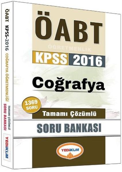 Yediiklim KPSS ÖABT Coğrafya Öğretmenliği Tamamı Çözümlü Soru Bankası.pdf