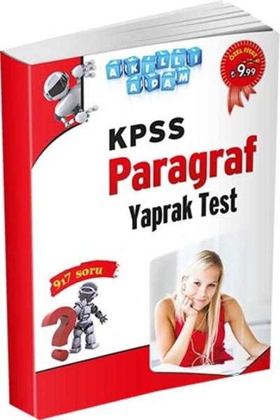 Akıllı Adam KPSS Paragraf Yaprak Test.pdf