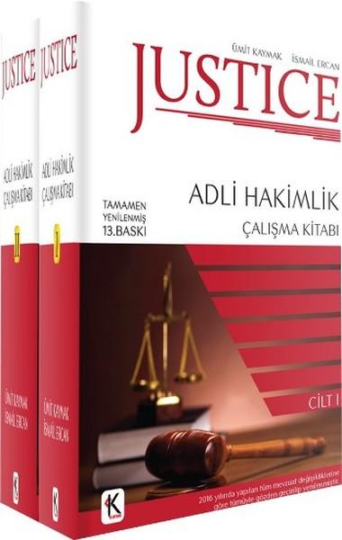 Justice - Adli Hakimlik Çalışma Kitabı - 2 Kitap Takım.pdf
