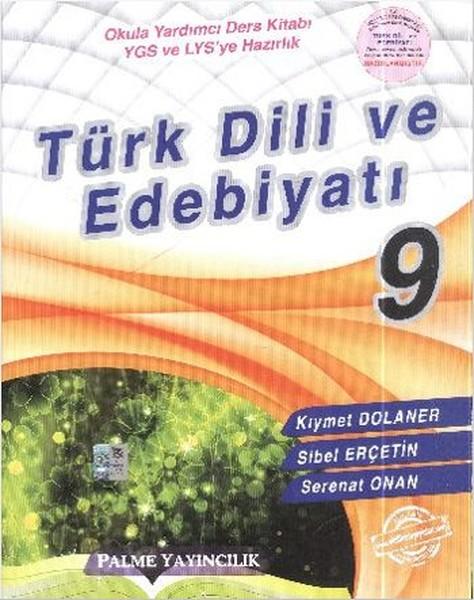 Palme 9. Sınıf Türk Dil ve Edebiyatı - Okula Yardımcı Ders Kitabı.pdf
