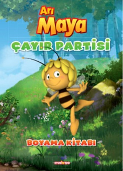 Arı Maya çayır Partisi Boyama Kitabı Kolektif Fiyatı Satın Al