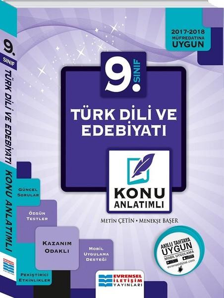 9. Sınıf Türk Dili ve Edebiyatı Konu Anlatımlı.pdf