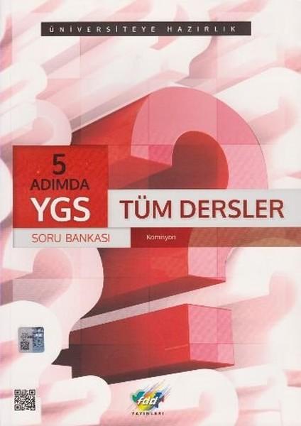 YGS 5 Adımda Tüm Dersler Soru Bankası.pdf