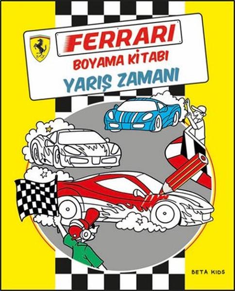Ferrari Boyama Kitabı Yarış Zamanı Kitap Müzik Dvd çok Satan