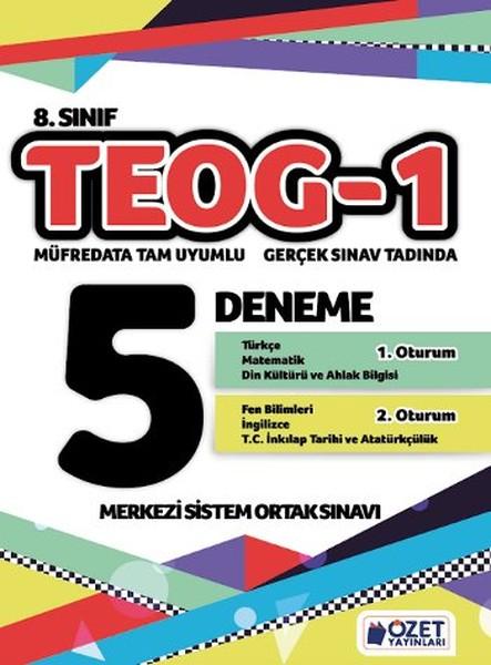 8. Sınıf TEOG 1 - 5 Deneme.pdf