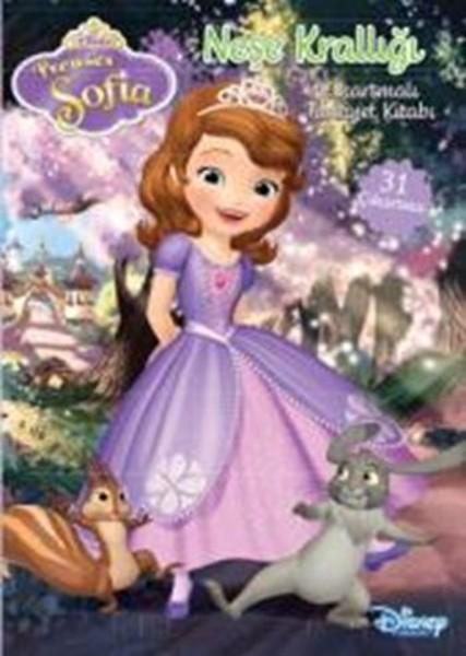 Disney Prenses Sofia Neşe Krallığı Çıkartmalı Faaliyet Kitabı.pdf