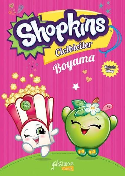 Shopkins Cicibiciler Boyama Kitabı Pembe1 Kolektif Fiyatı